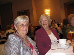 Carole Clancy, Betty Baughman