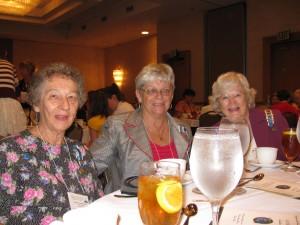 Jean Witherington, Carole Clancy, Betty Baughman